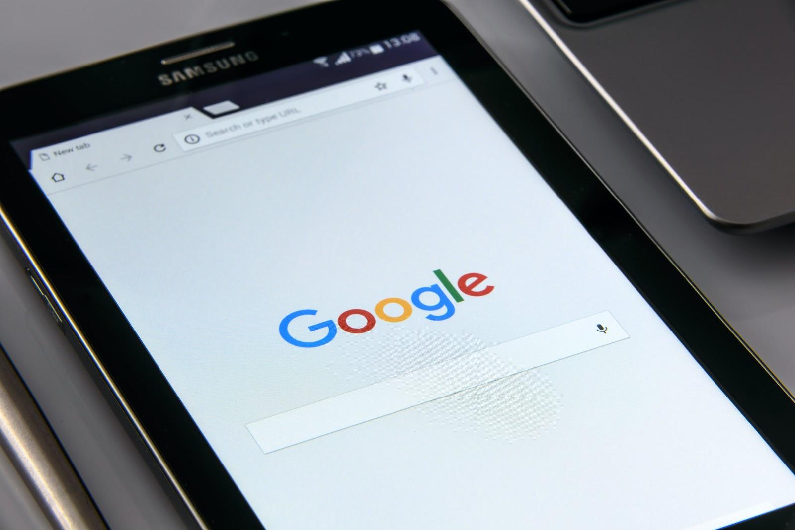 barre de recherche google