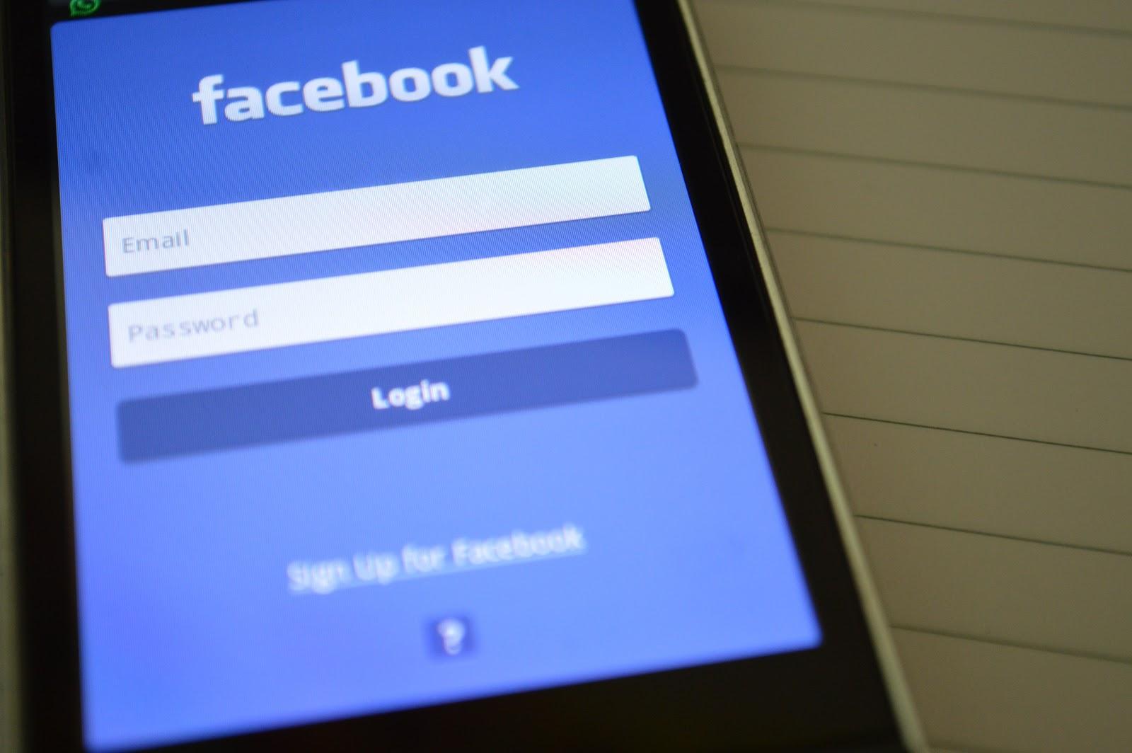 Connexion réseau Facebook