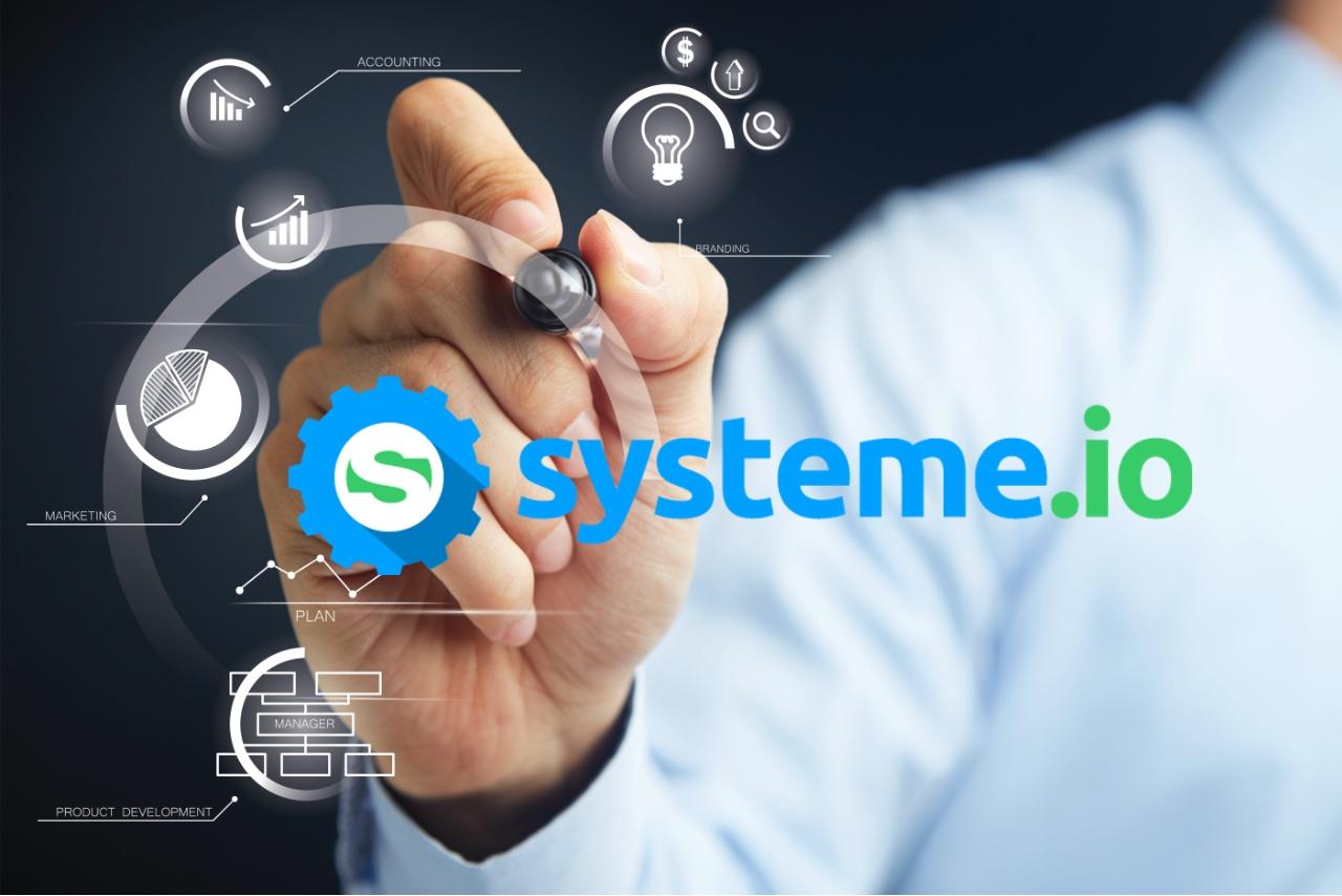 Systeme.io pour créer votre tunnel de vente