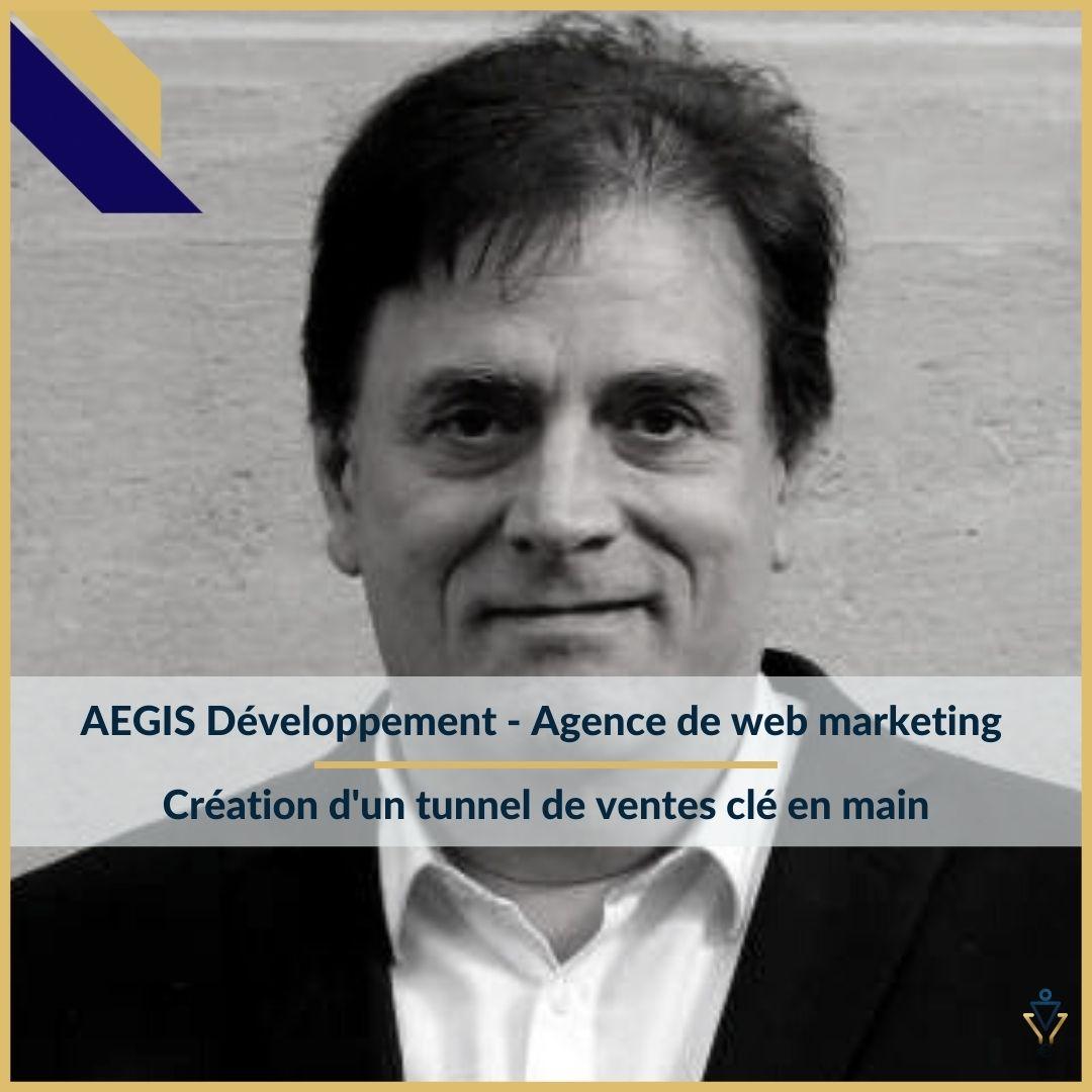 AEGIS développement - Création d'un tunnel de ventes clé en main- ERO Corp - Agence de tunnel de ventes et optimisation avec Funnelytics