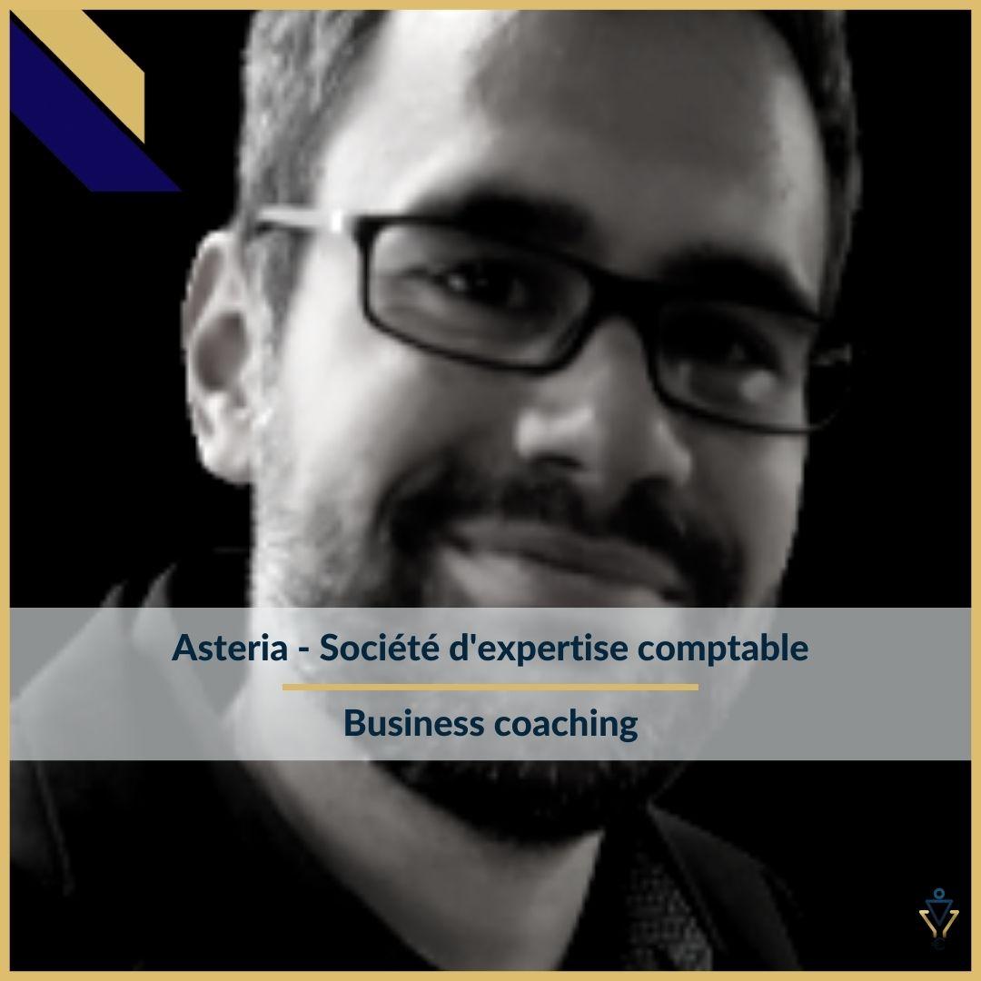 Asteria - business coaching- ERO Corp - Agence de tunnel de ventes et optimisation avec Funnelytics