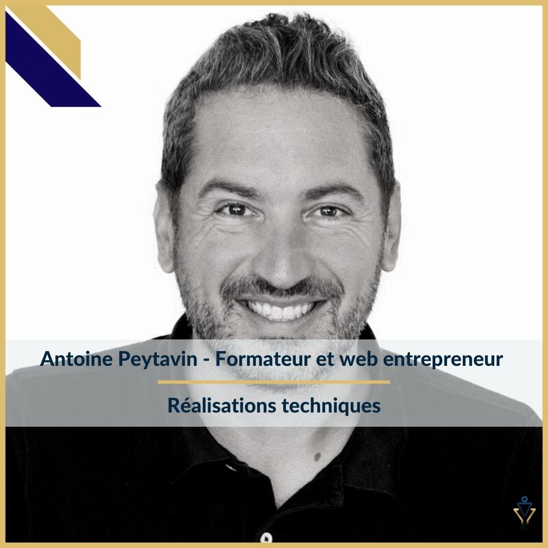 Antoine Peytavin - Réalisations techniques - ERO Corp - Agence de tunnel de ventes et optimisation avec Funnelytics