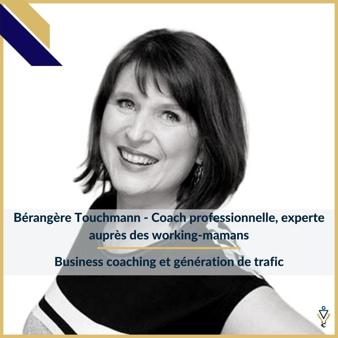 Bérangère Touchmann - Business coaching et génération de trafic - ERO Corp - Agence de tunnel de ventes et optimisation avec Funnelytics
