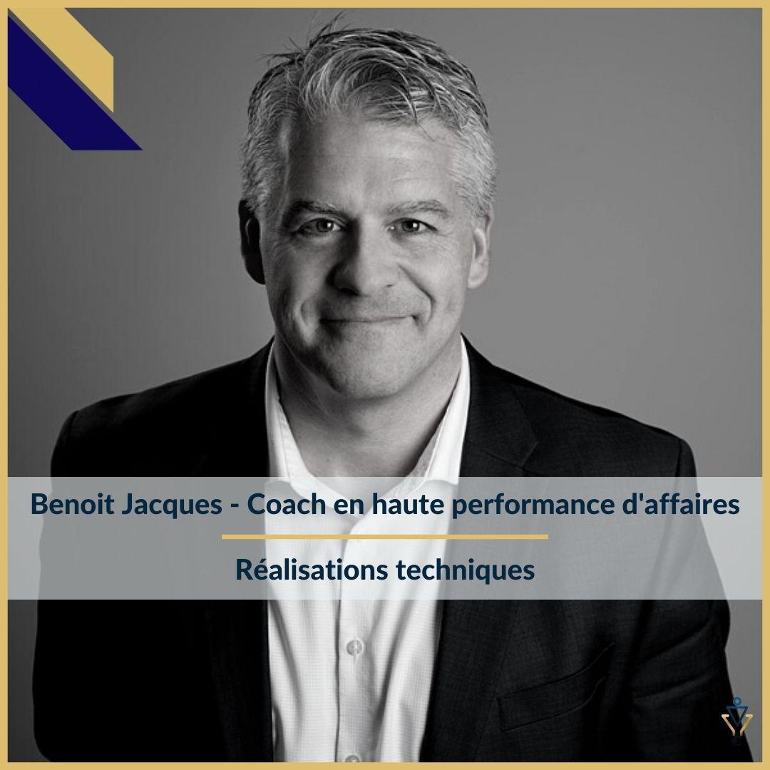 Benoit Jacques - Réalisations techniques - ERO Corp - Agence de tunnel de ventes et optimisation avec Funnelytics