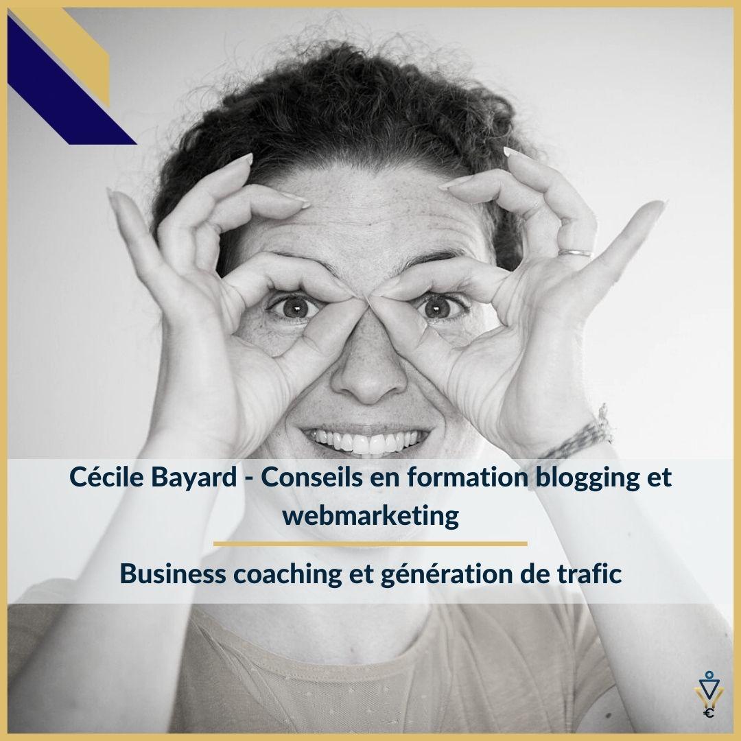 Cécile Bayard - Business coaching et génération de trafic - ERO Corp - Agence de tunnel de ventes et optimisation avec Funnelytics