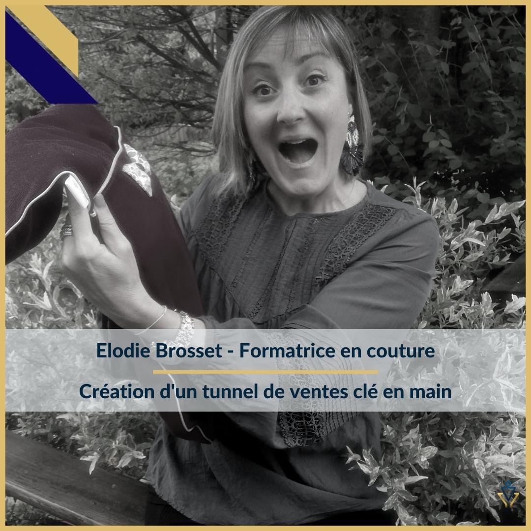 Elodie Brosset - Création d'un tunnel de ventes clé en main - ERO Corp - Agence de tunnel de ventes et optimisation avec Funnelytics