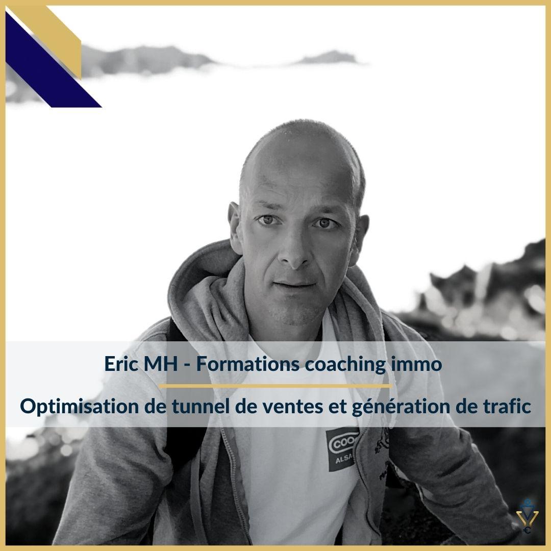 Eric MH - Optimisation de tunnel de ventes et génération de trafic - ERO Corp - Agence de tunnel de ventes et optimisation avec Funnelytics