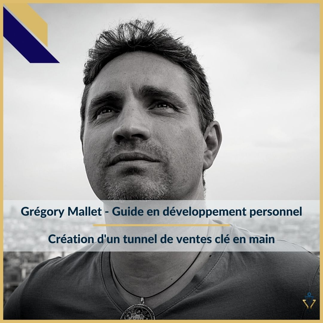 Grégory Mallet - Création d'un tunnel de ventes clé en main - ERO Corp - Agence de tunnel de ventes et optimisation avec Funnelytics