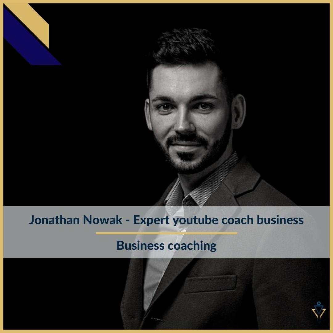 jonathan Nowak - Business coaching - ERO Corp - Agence de tunnel de ventes et optimisation avec Funnelytics