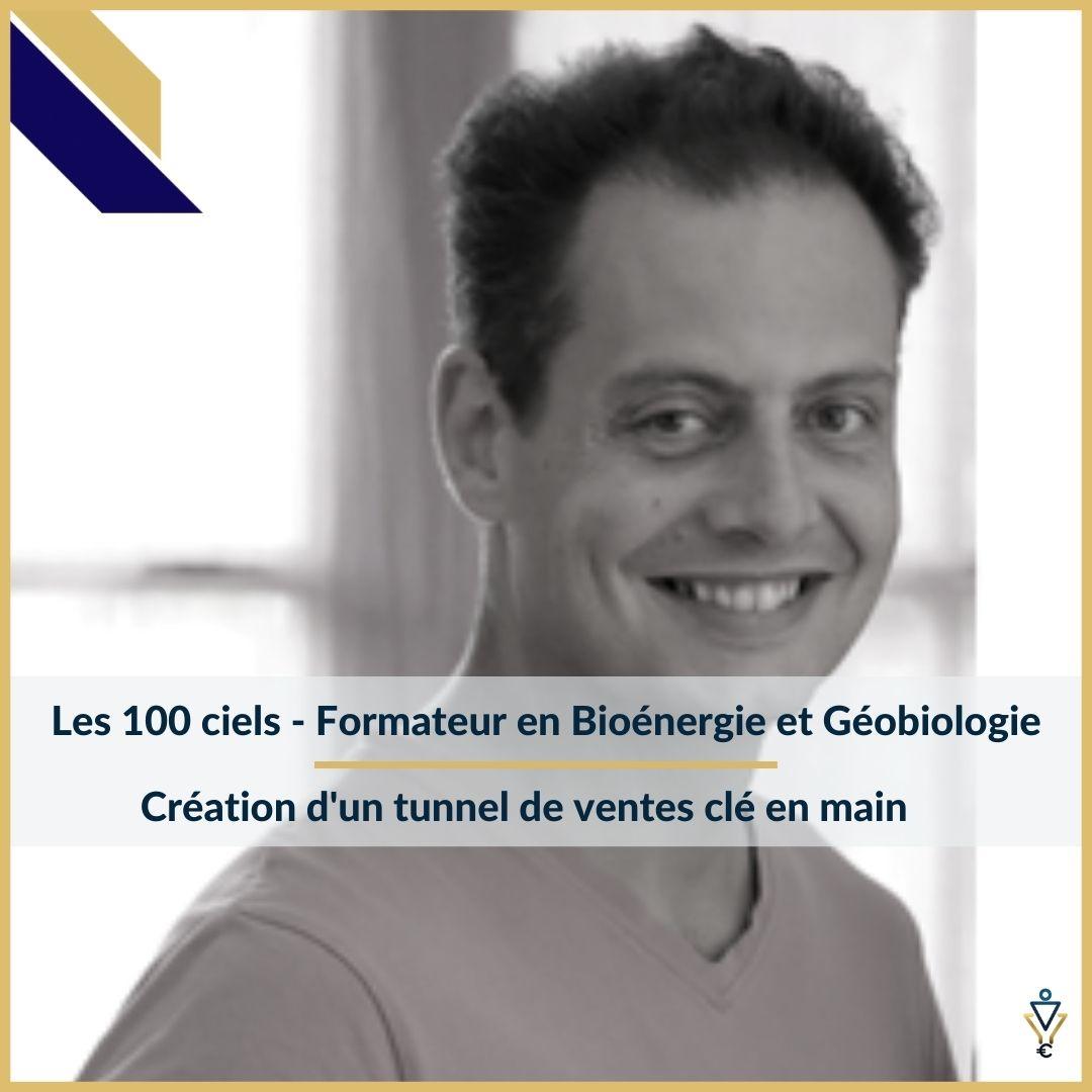 Les 100 Ciels - Création d'un tunnel de ventes clé en main - ERO Corp - Agence de tunnel de ventes et optimisation avec Funnelytics