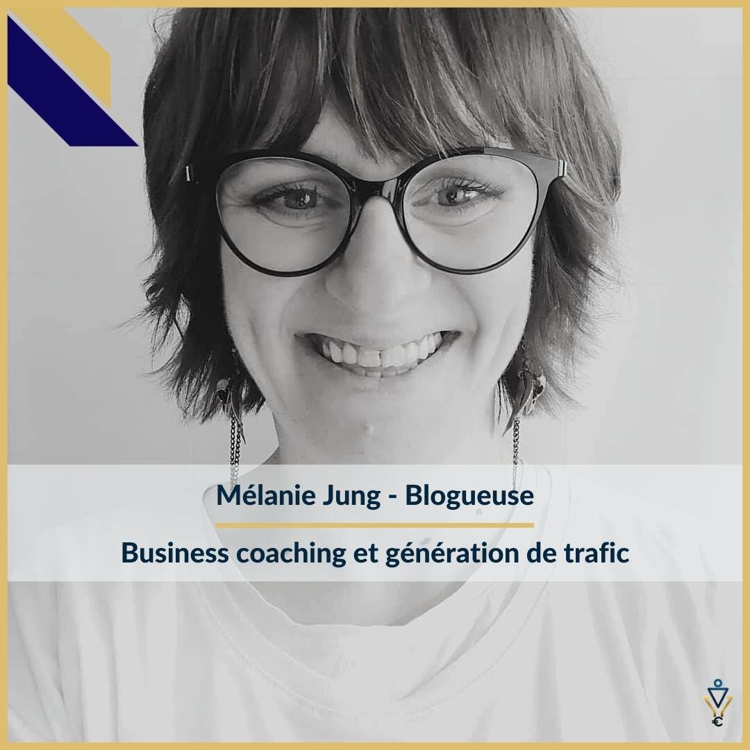 Mélanie Jung - Business coaching et génération de traficERO Corp - Agence de tunnel de ventes et optimisation avec Funnelytics