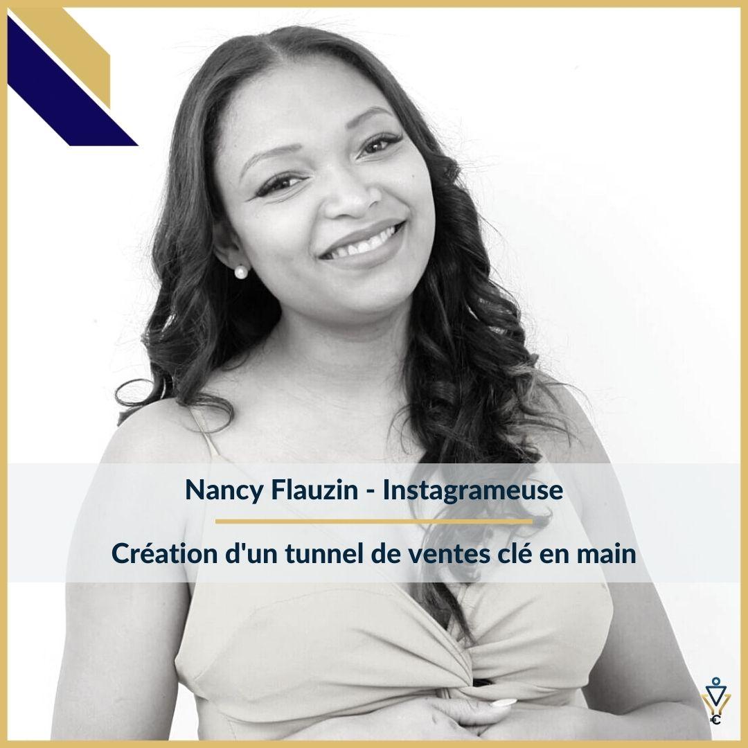 Nancy Flauzin - Création d'un tunnel de ventes clé en main - ERO Corp - Agence de tunnel de ventes et optimisation avec Funnelytics