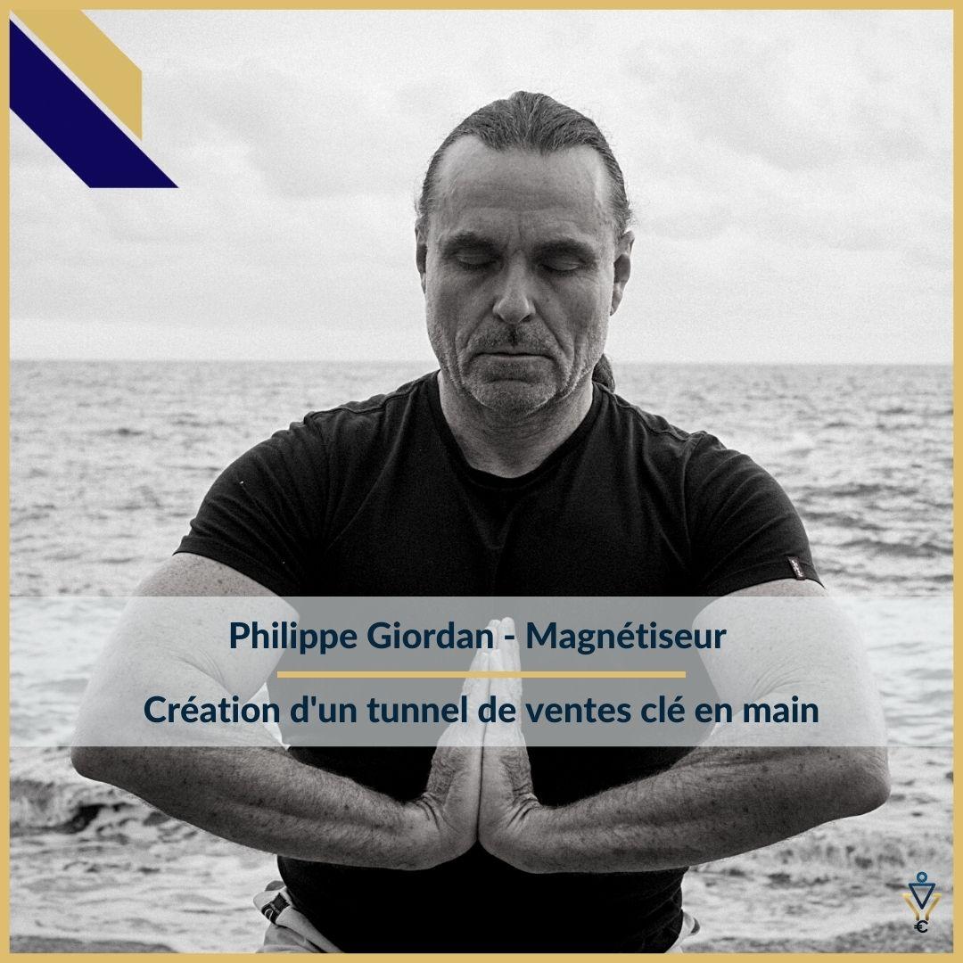 Philippe Giordan - Création d'un tunnel de ventes clé en main - ERO Corp - Agence de tunnel de ventes et optimisation avec Funnelytics
