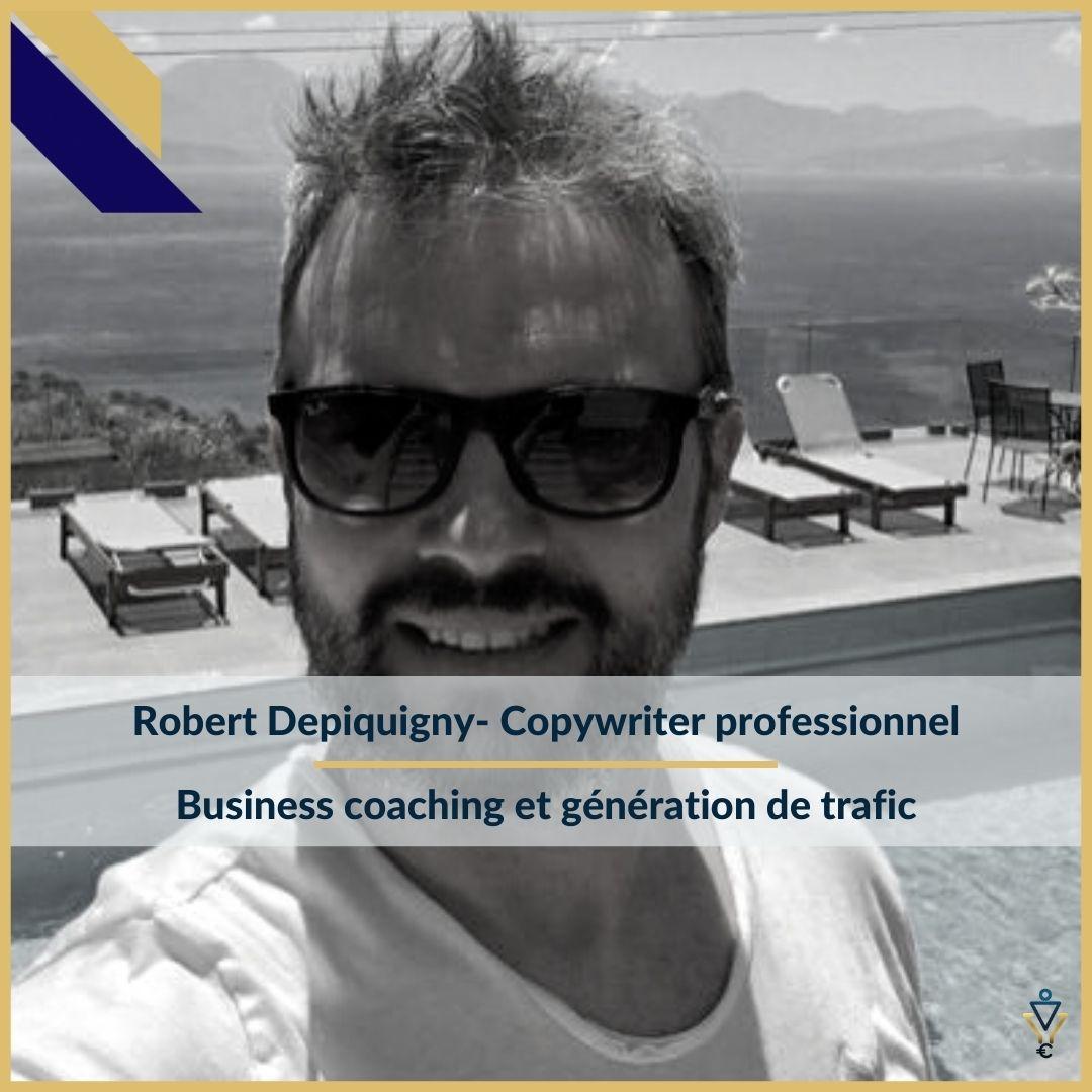 Robert Depiquigny - Business coaching et génération de trafic - ERO Corp - Agence de tunnel de ventes et optimisation avec Funnelytics