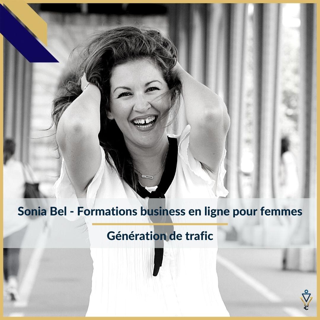 Sonia Bel - Génération de trafic - ERO Corp - Agence de tunnel de ventes et optimisation avec Funnelytics