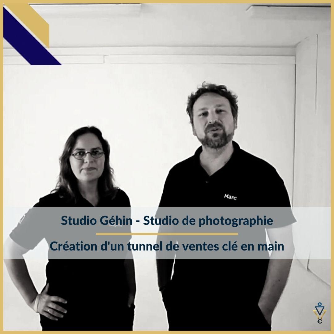 Studio Gehin - Création d'un tunnel de ventes clé en main- ERO Corp - Agence de tunnel de ventes et optimisation avec Funnelytics