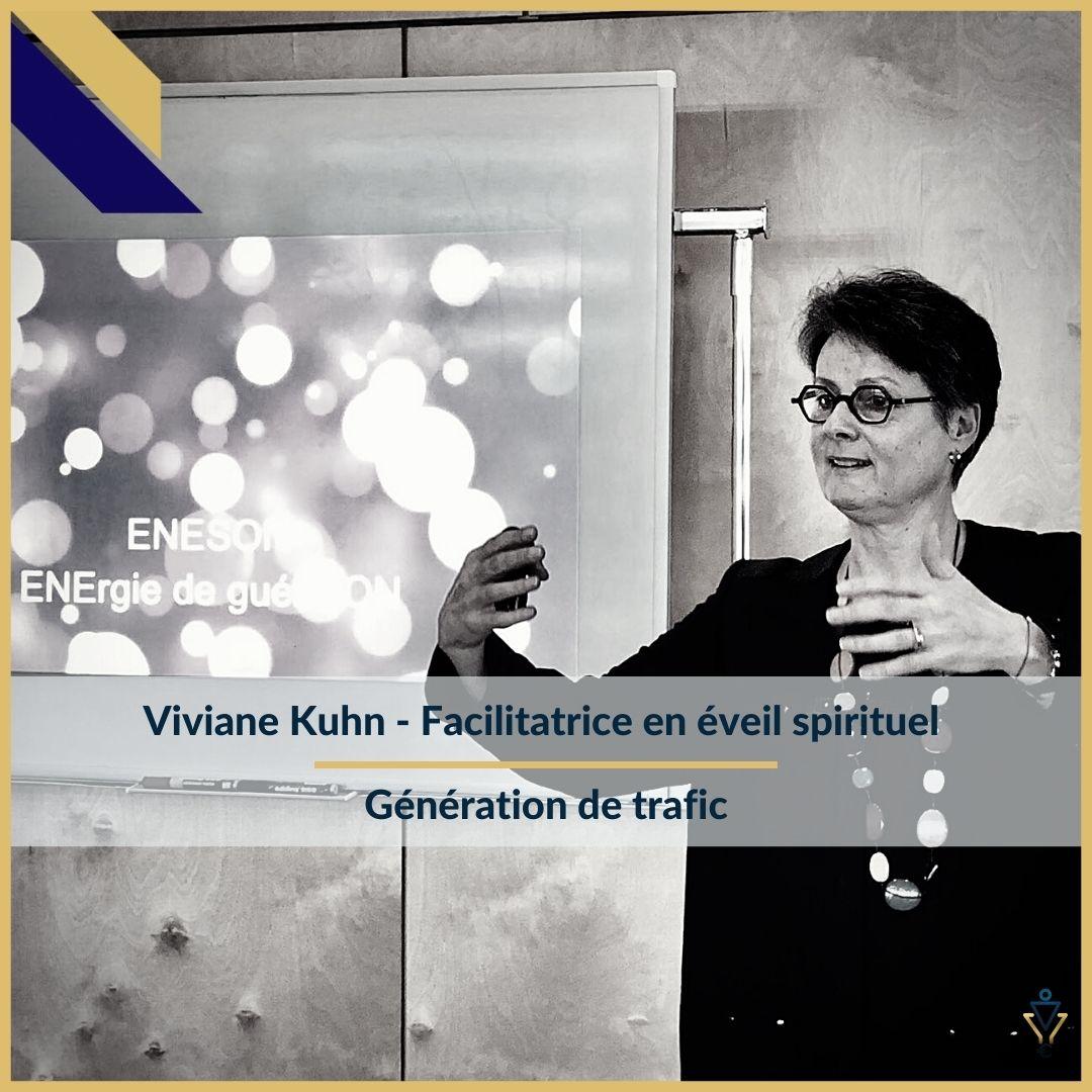 Viviane Kuhn - génération de trafic - ERO Corp - Agence de tunnel de ventes et optimisation avec Funnelytics