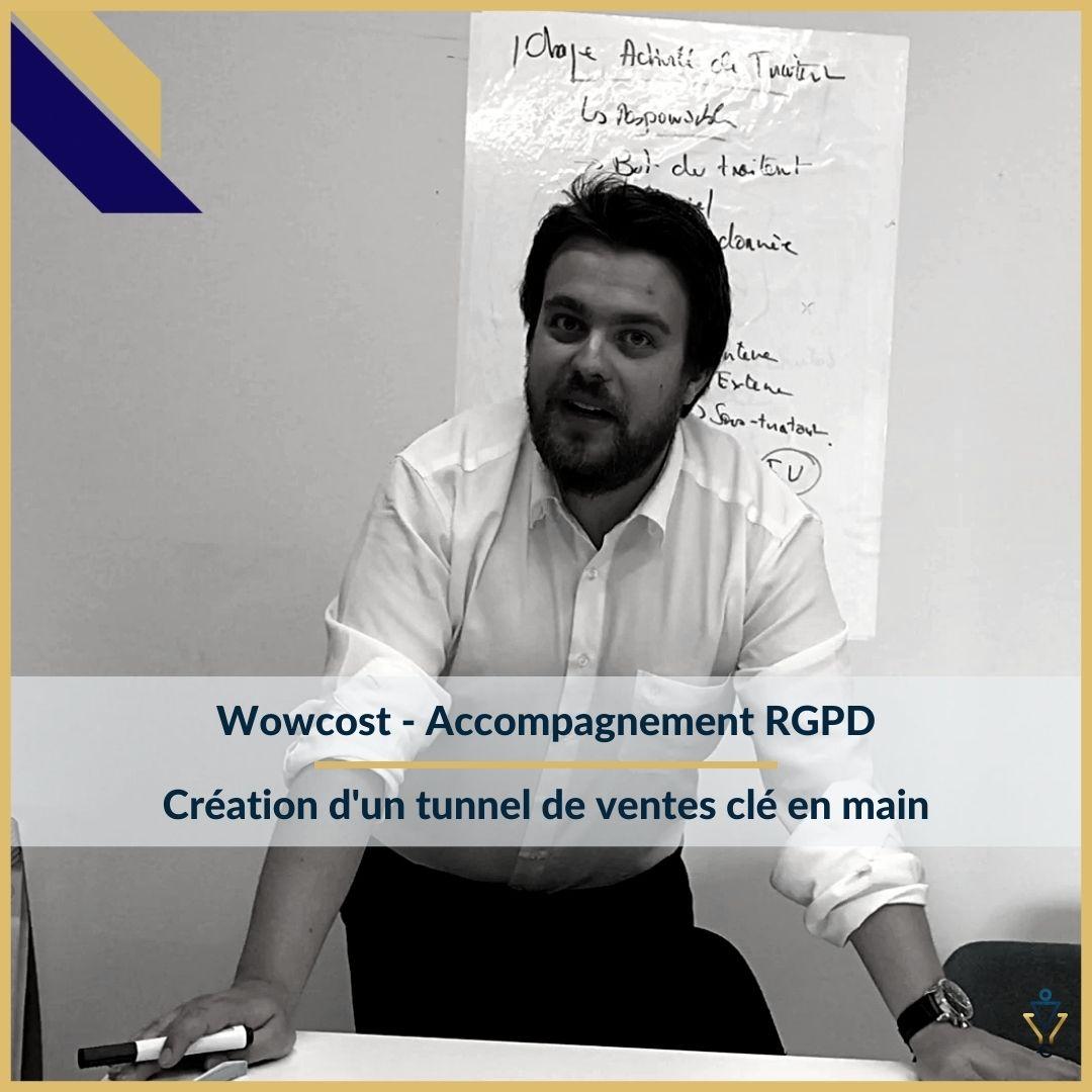 Wowcost - Création d'un tunnel de ventes clé en main - ERO Corp - Agence de tunnel de ventes et optimisation avec Funnelytics