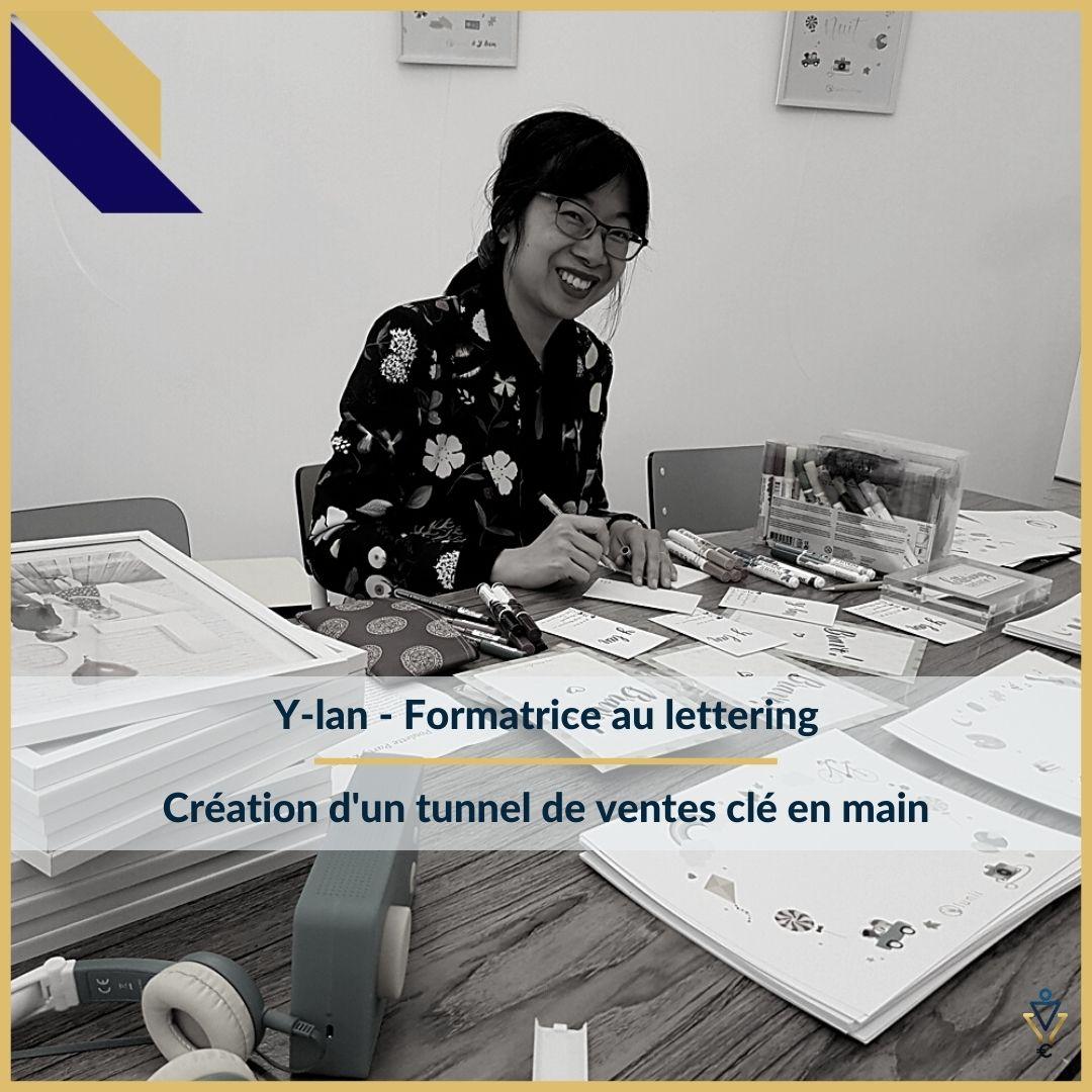 Y-lan - Création d'un tunnel de ventes clé en main - ERO Corp - Agence de tunnel de ventes et optimisation avec Funnelytics