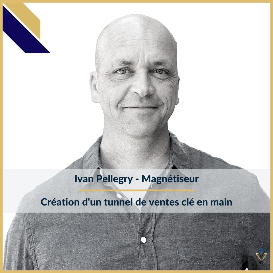 Yvan Pellegry - Création d'un tunnel de ventes clé en main - ERO Corp - Agence de tunnel de ventes et optimisation avec Funnelytics